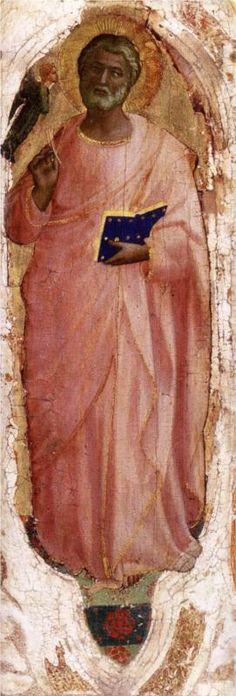 Fra Angelico, St. Matthew, c. 1424