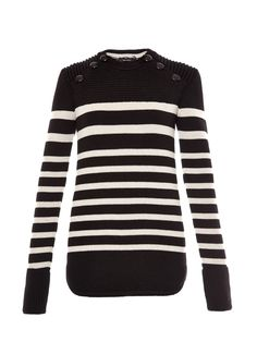 Hayward striped wool-blend knit sweater | Isabel Marant | MATCHESFASHION.COM US