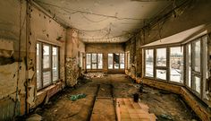 Abandoned Railway Control Room by *Camereon on deviantART