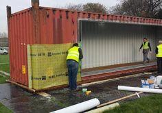 primera casa contenedor de transporte de Irlanda fue construida en sólo tres días | Inhabitat - Diseño Verde, Innovación, Arquitectura, Construcción Verde