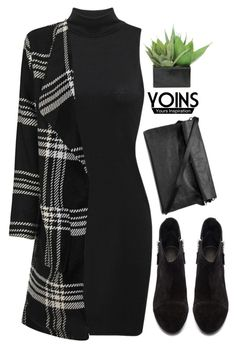 Yoins 8.19 by emilypondng on Polyvore featuring polyvore, fashion, style, rag & bone, Lux-Art Silks, clothing, yoins, yoinscollection and loveyoins