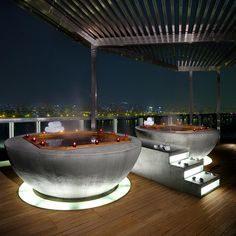 Looks relaxing enough for me.  W Seoul Walkerhill Hotel @ South Korea