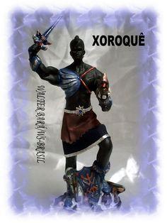 Sòhòkwè - Xoroquê, nem Exu nem Ogum. Xoroquê guardião da casa. Lava expelida do vulcão.
