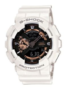 online shopping for Casio Men's G-Shock White Watch from top store. See new offer for Casio Men's G-Shock White Watch Casio G-shock, Casio Watch, Casio G Shock Watches, Timex Watches, Sport Watches, Wrist Watches, Men's Watches, Analog Watches, Fashion Watches