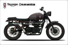 2012 Triumph Scrambler Tony Hawk Special