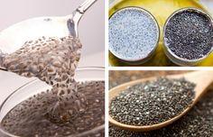 Sementes de chia, um remédio natural contra a prisão de ventre