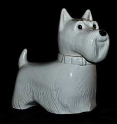 Dog Cookie Jar by Metlox