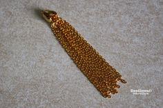 Gold Chain Tassel Necklace6