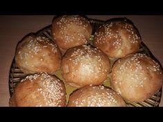 Τυροπιτάκια χωρίς φύλλο στο λεπτό!! - YouTube Hamburger, Food And Drink, Bread, Cooking, Youtube, Kitchen, Brot, Baking, Burgers