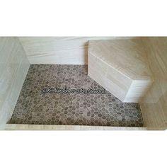 I've been in the tile trade since 1998.  HEXAGON  #masterofmytrade #mosaics #tilepicsfordays #qualityoverquantity #tileartist #allhands #tilerspride #tiling #tiler #tile #tilework #tilesetter #tileporn #tileaddiction #remodel #hexlove #homeimprovement #interior #mastertilesetter #tiledesign #interiordesign #designporn #thetileshop #precisiontilework #customtile #remodeling  #hexagontiles #construction #mytileshop #recessedniche by k_nardonecustomtilework