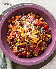 Chipotle-Quinoa Chili #recipe