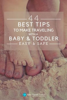 How to travel safe and happy with your baby and toddler: here are the 44 ultimate best tips to make traveling with your young family easy and safe! Traveling With Baby, Traveling By Yourself, Toddler Travel, Baby Travel, Travel Light, Best Vacations, Trip Planning, Family Planning, Travel Around The World