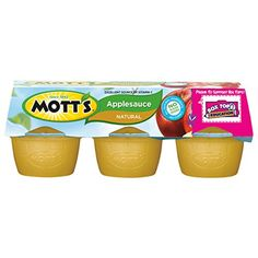 Motts Natural Applesauce 39 oz cups 6 count -- Be sure to check out this awesome product. (Note:Amazon affiliate link)