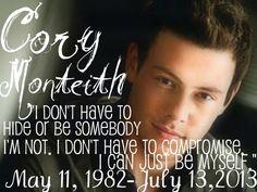 RIP Cory Monteith - Cory Monteith Photo (35017875) - Fanpop