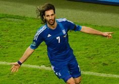George Samaras:footballer of Greek national team  With Greek team since 2006,earning over 70 caps&representing GREECE at Euro 2008,2010 World Cup&Euro 2012   Also have play with Manchester in 2006.After Sven Eriksson took over as Manchester manager in 2008 he was loaned out to Scottish team Celtic,helped the club win the title for a 3d season in a row.Celtic signed him&he moved to Glasgow winning the 2008–09 Scottish League Cup,2010–11 Scottish Cup&the 2011–12 Scottish Premier League.