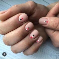 bright nails — Summer nails, nails are, nails design, trendy nails. Short Natural Nails, Natural Looking Nails, Natural Nail Art, Natural Nail Designs, Minimalist Nails, Short Nail Designs, Nail Art Designs, Nails Design, Salon Design