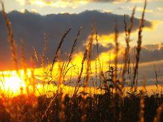 Sonnenuntergang Mittelfranken