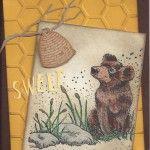 2106JJ Bear with Honey