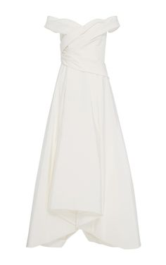 M'o Exclusive Off The Shoulder Gown by J. MENDEL for Preorder on Moda Operandi