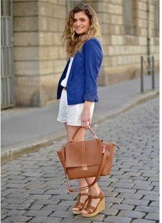Elegancy White & Blue @Pimkie on www.marieandmood.com  French blogger I Mode I Look I Fashion Blogger I Summer I Outfit I Lyon