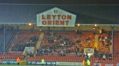 Leyton Orient, Brisbane Road/Matchroom Stadium, 03/03/2009