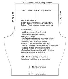 kids pants pattern | Commercial Cosmetics versus Homemade Cosmetics: Intended Use, Shelf ...