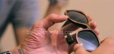 Membuat Kaca Mata Dari Limbah Kayu