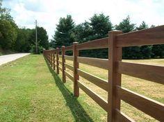 Image result for 4 bar wooden fence