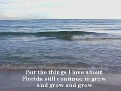 The Things I Love About Florida (new title)