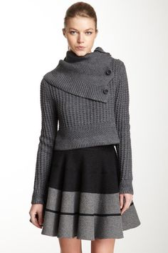 Cut25 Chunky Waffle Knit Sweater by Labels We Love on @HauteLook