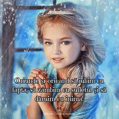 """""""Oriunde și oricând să iubim cu fapta să zâmbim cu sufletul și să dăruim cu inima!""""  Să aveți Sufletul Mintea și Inima pline de frumos! ___________ The most beautiful posts   Despre Oameni frumosi    http://ift.tt/2xyywKb   Sharing is CARING! / Dacă trimiți mai departe înseamnă că ÎȚI PASĂ!"""