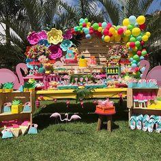 Pool Party por @dudabaluza_festas #blogencontrandoideias #encontrandoideias #fabiolateles