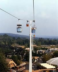 Six Flags St Louis Skyway 1970s - wow, they don't even have that anymore . . .