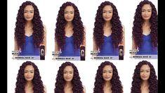 DIY U-Part Crochet Braids wig made with Model Model Bermuda Wave Crochet Hair Styles, Crochet Braids, Diy Crochet, U Part, Braids Wig, Wig Making, Big Hair, Natural Hair Styles, Waves