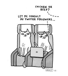 Sky Cats - The Technology Issue by gemma correll