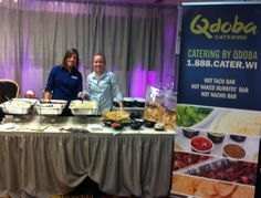 Had such a great time talking with all of the soon to be brides and grooms about our catering options at the Wisconsin Wedding Spectacular!! Qdoba Catering is a great option for rehearsal dinners, weddings, post-weddings, you name it!