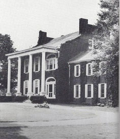 Edgewood - Bardstown, Kentucky - Built 1812-1215. Served as headquarters for General Leonidas Polk during the Confederate occupation of Bardstown.  The right wing is the older portion.  Benjamin Hardin, Kentucky lawyer and secretary of state, built Edgewood. His grandson, General Ben Hardin Helm of the Confederate army, who was born at Edgewood, married Emilie Todd, sister of Mary Tod Lincoln.