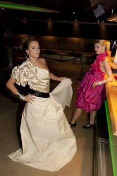 Dresses by: I Love dresses  Dresses: Kitty S & Sandy K  Picture: Dorit Salutskij  Models: Kristiina and Sanna