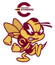 concordia university new mascot Retro Cartoons, Retro Ads, Mascot Design, Logo Design, Character Poses, Character Design, Team Mascots, Art Story, Shirt Print Design