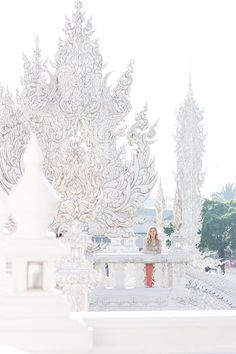 Tips for visiting Wat Rong Khun - the White Temple in Chiang Rai Thailand.