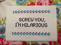20 Fabulously Raunchy Cross Stitches (NSFW): 20 Fabulously Raunchy Cross Stitches