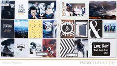 Spread 11 Sandlot Project Life kit + printables by AllisonWaken at @studio_calico