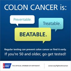 Kolon kanseri önceden tespit edilebilir ve erken teşhis halinde kolaylıkla tedavi edilebilir bir hastalıktır.