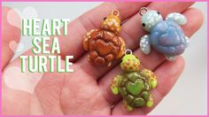 Polymer clay sea turtle » Watch in HD! I had a great time doing this collab with Heather Wells! Check her out here: Channel: https://www.youtube.com/user/heathernwells Her Tutorial:...