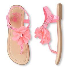 Girls Flower Zahara Sandal | The Children's Place