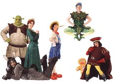 Shrek the Musical Broadway -  Good photos of many of the costumes