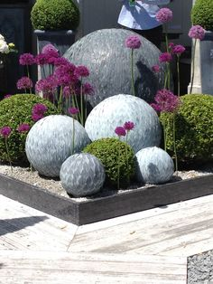 Garden orbs, we loved these!