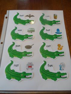 """Mac has been learning about the letter """"A"""" this week, so I had to make Izzie some more challenging letter """"a"""" activities too! Preschool Jungle, Preschool Learning, Toddler Preschool, Teaching, Zoo Phonics, Daycare Crafts, Tot School, Preschool Activities, Childrens Books"""