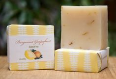 Handmade Bar of Soap made with our Shea & Mango Butter Recipe