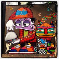 """#sp #brazil #saopaulo #veja #amauri #graffiti #grafite """